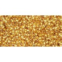 TR-15-701 24K GOLD LINED CRYSTAL TOHO SEED BEADS
