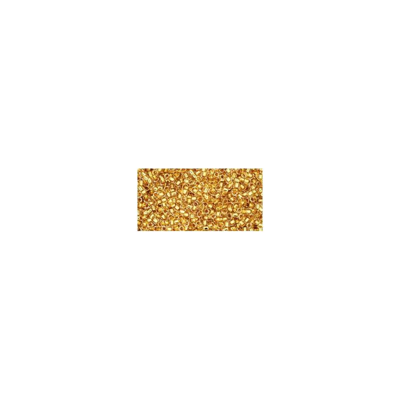 TR-15-701 24K GOLD LINED CRYSTAL TOHO SEEMNEHELMEID