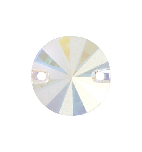 10MM Crystal AB F (001 AB) 3200/G Rivoli SWAROVSKI ELEMENTS