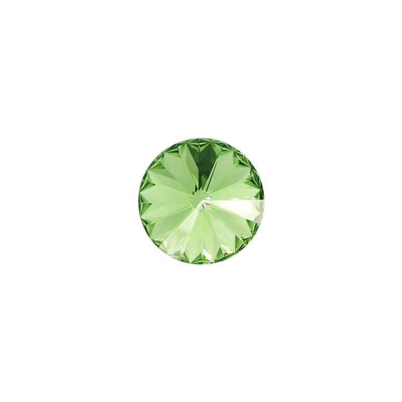 14MM Peridot F (214) 1122 Rivoli Chaton SWAROVSKI ELEMENTS