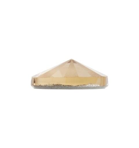 14MM Light Colorado Topaz F PFRO01 (246) 3200/G Rivoli SWAROVSKI ELEMENTS