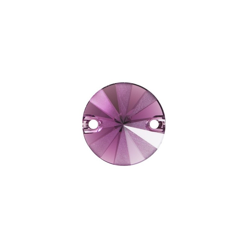 14MM Amethyst F PFRO01 (204) 3200/G Rivoli SWAROVSKI ELEMENTS