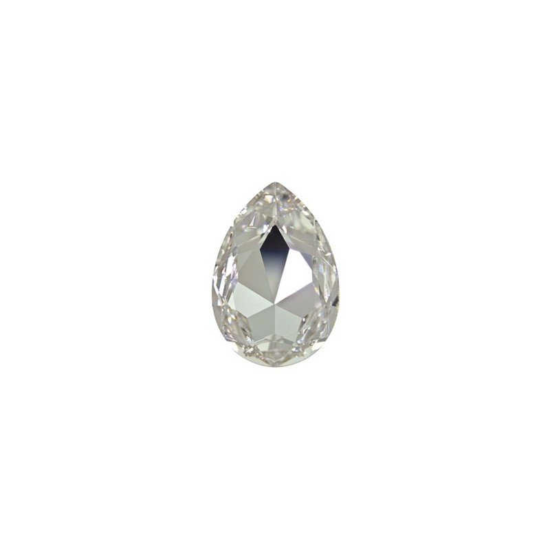 30x20mm Crystal F (001) Pear-Shaped Fancy Stone 4327 Swarovski Elements