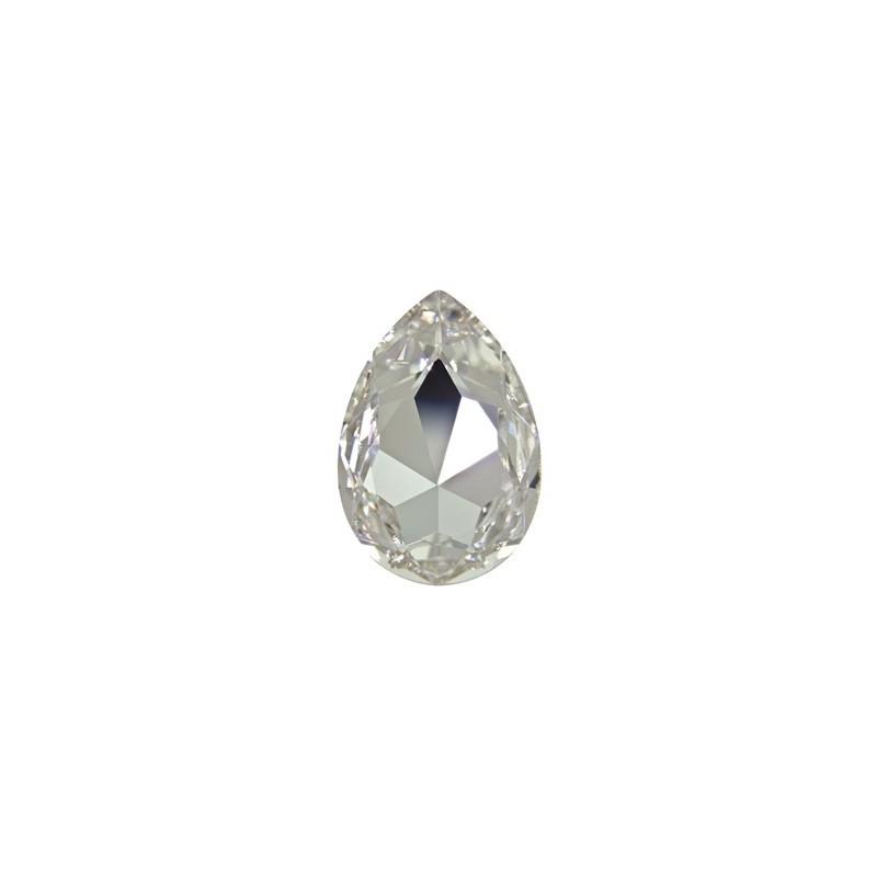30x20mm Crystal F (001) Pear-Shaped Fancy Stone 4327 Swarovski Elements