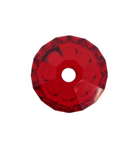 3MM Light Siam (90070) Bi-Cone Rondell Preciosa Beads