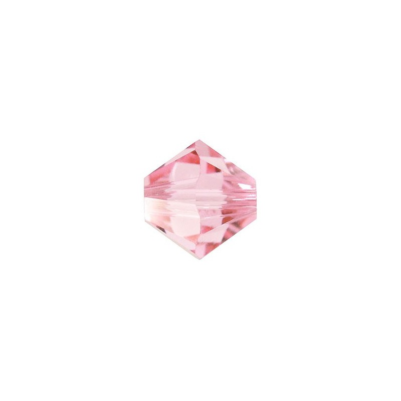 4MM Light Rose (223) 5328 XILION Bi-Cone Helmes SWAROVSKI ELEMENTS