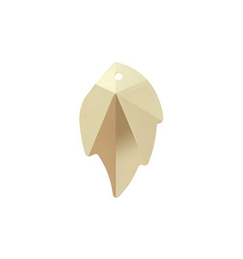 26X16MM Crystal Golden Shadow (001 GSHA) Ripatsid Leheke 6735 SWAROVSKI ELEMENTS