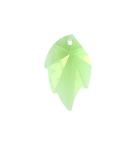 26X16MM Peridot (214) Pendants Leaf 6735 SWAROVSKI ELEMENTS