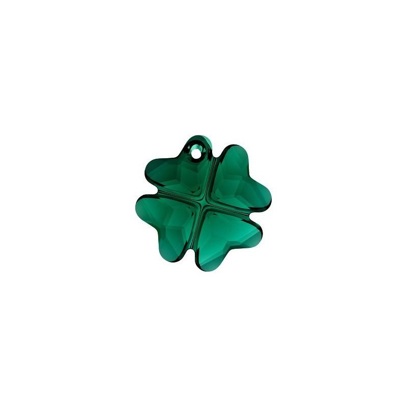 19MM Emerald (205) Подвески Клевер 6764 SWAROVSKI ELEMENTS