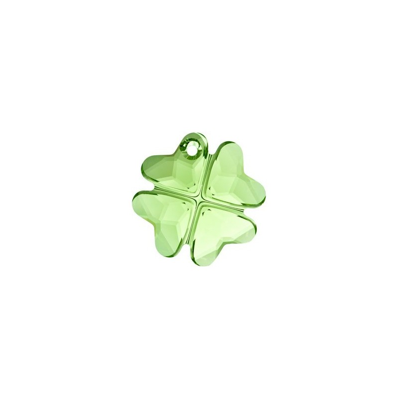 19MM Peridot (214) Pendants Clover 6764 SWAROVSKI ELEMENTS