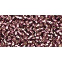 TR-11-26B SILVER-LINED MED AMETHYST TOHO SEED BEADS