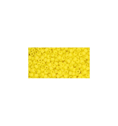 TR-11-42F OPAQUE FROSTED DANDELION TOHO SEED BEADS
