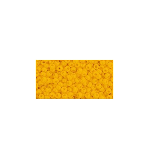 TR-11-42B OPAQUE SUNSHINE TOHO SEED BEADS