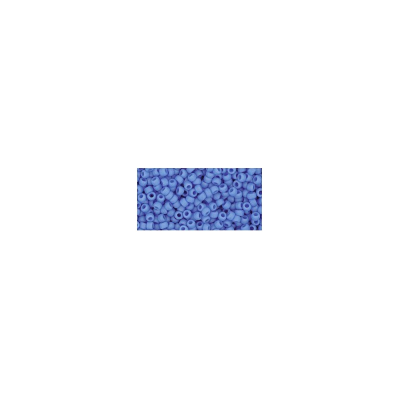 TR-11-43DF OPAQUE-FROSTED CORNFLOWER TOHO SEED BEADS
