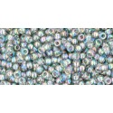 TR-11-176 TRANS-RAINBOW BLACK DIAMOND TOHO SEED BEADS