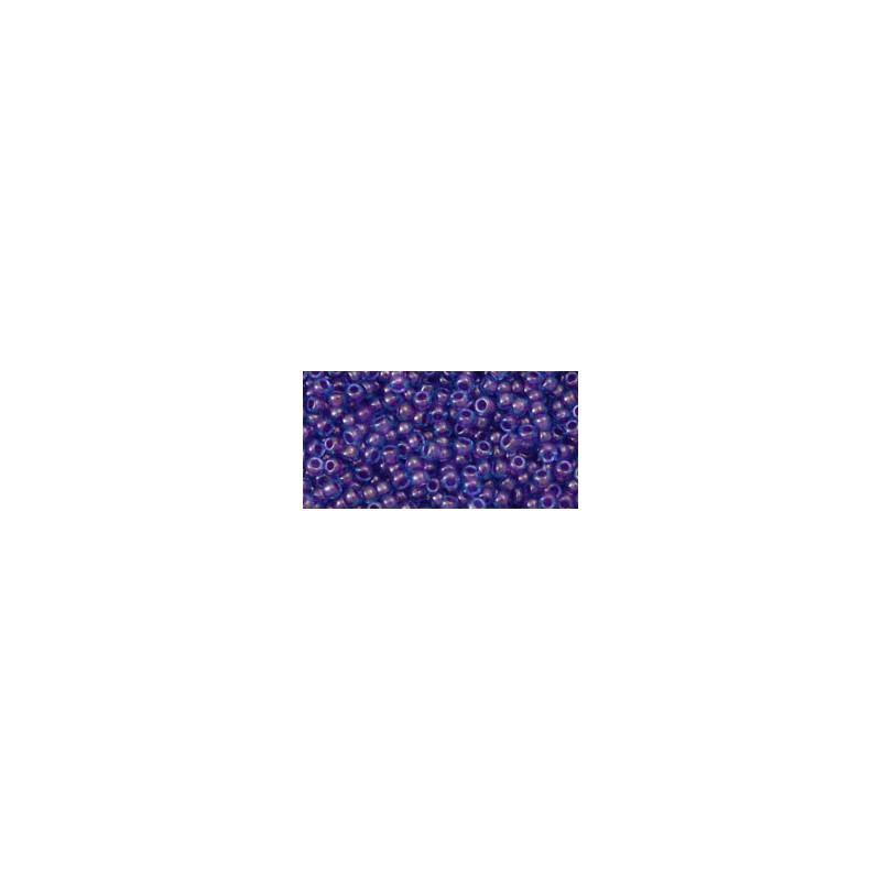 TR-11-252 INSIDE-COLOR AQUA/PURPLE LINED TOHO SEEMNEHELMEID