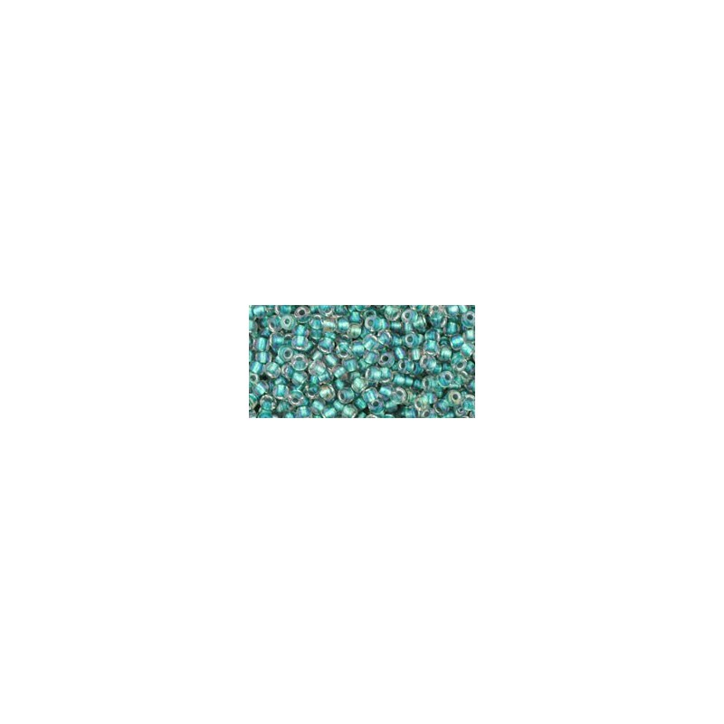 TR-11-264 INSIDE-COLOR RAINBOW CRYSTAL/TEAL LINED TOHO SEEMNEHELMEID