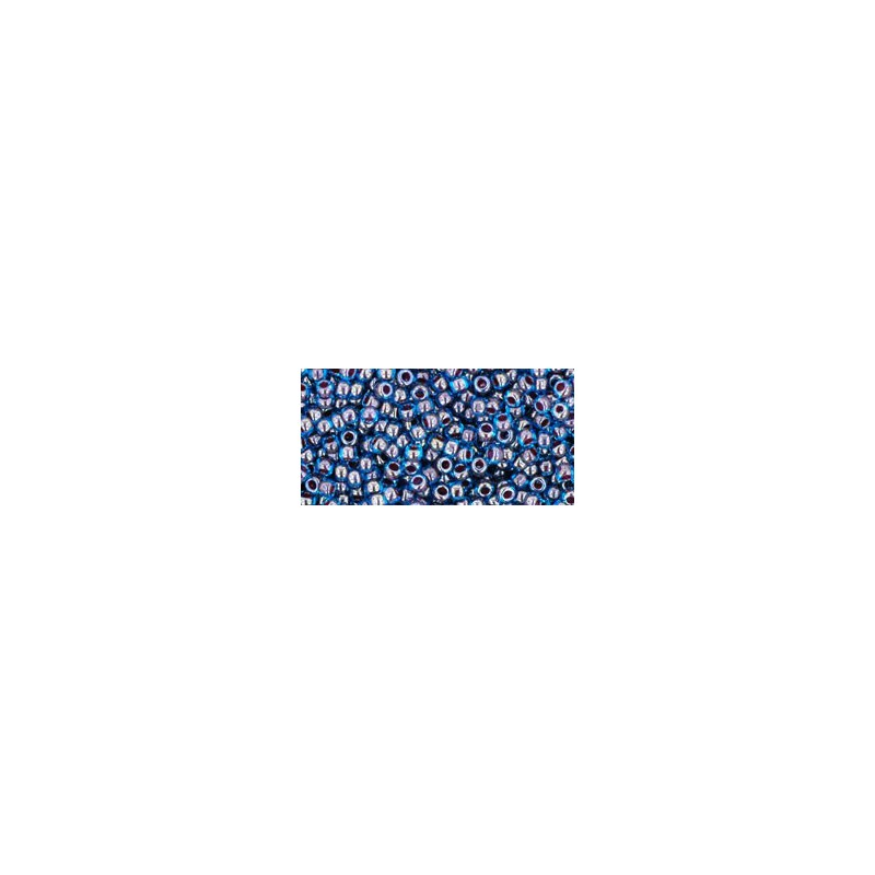 TR-11-294 INSIDE-COLOR BLUE RASPBERRY TOHO SEED BEADS