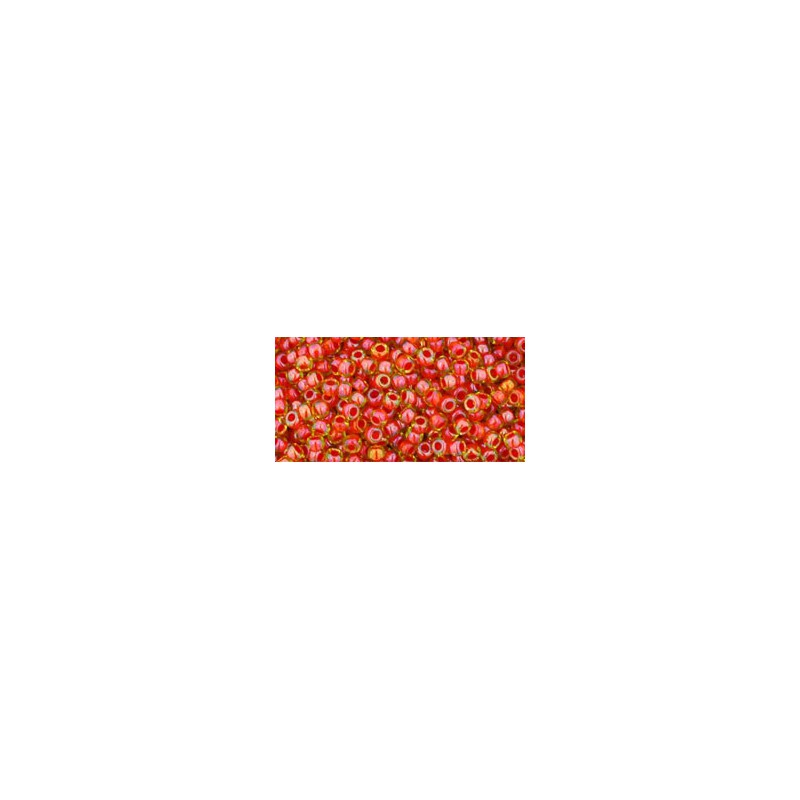TR-11-303 INSIDE-COLOR JONQUIL/HYACINTH LINED TOHO SEED BEADS
