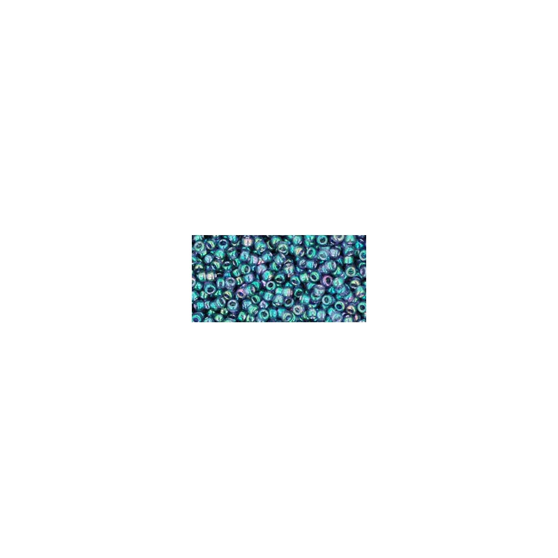 TR-11-321 GOLD-LUSTERED MEDITERRANEAN SEA TOHO SEED BEADS