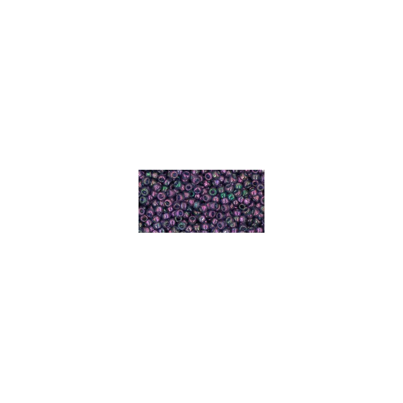 TR-11-328 GOLD-LUSTERED MOON SHADOW TOHO SEED BEADS