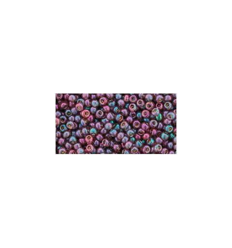 TR-11-425 GOLD-LUSTERED MARIONBERRY TOHO SEED BEADS