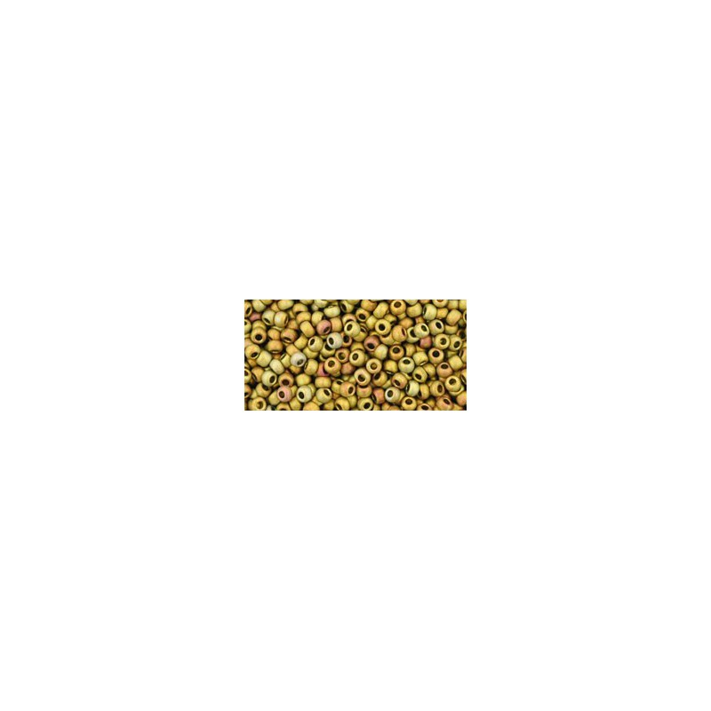 TR-11-513F HIGHER-METALLIC-FROSTED* CARNIVAL TOHO SEED BEADS