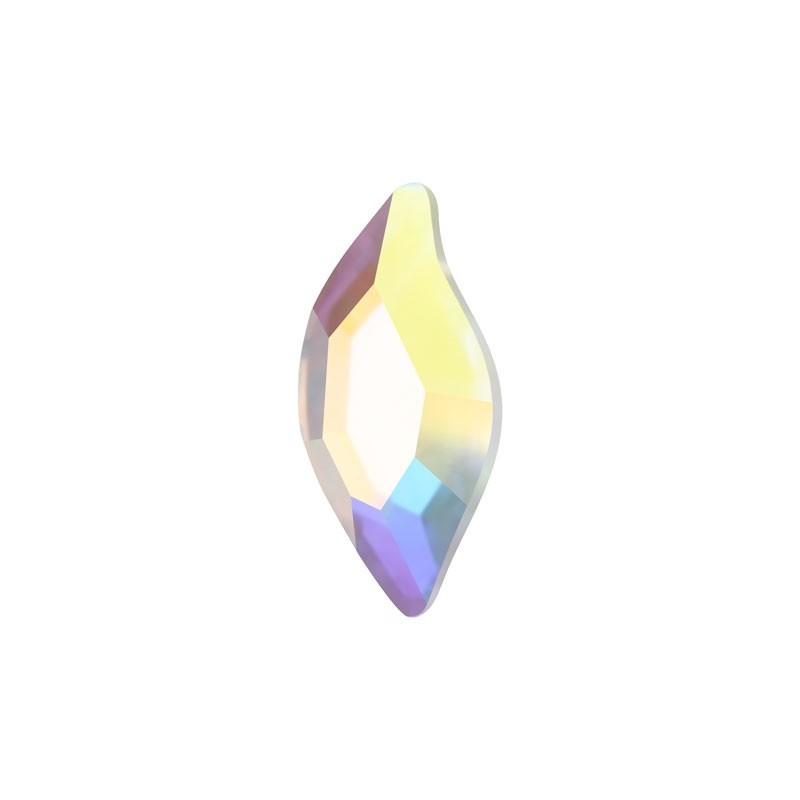 8X4MM Crystal AB F (001 AB) 2797 Diamond Leaf SWAROVSKI ELEMENTS