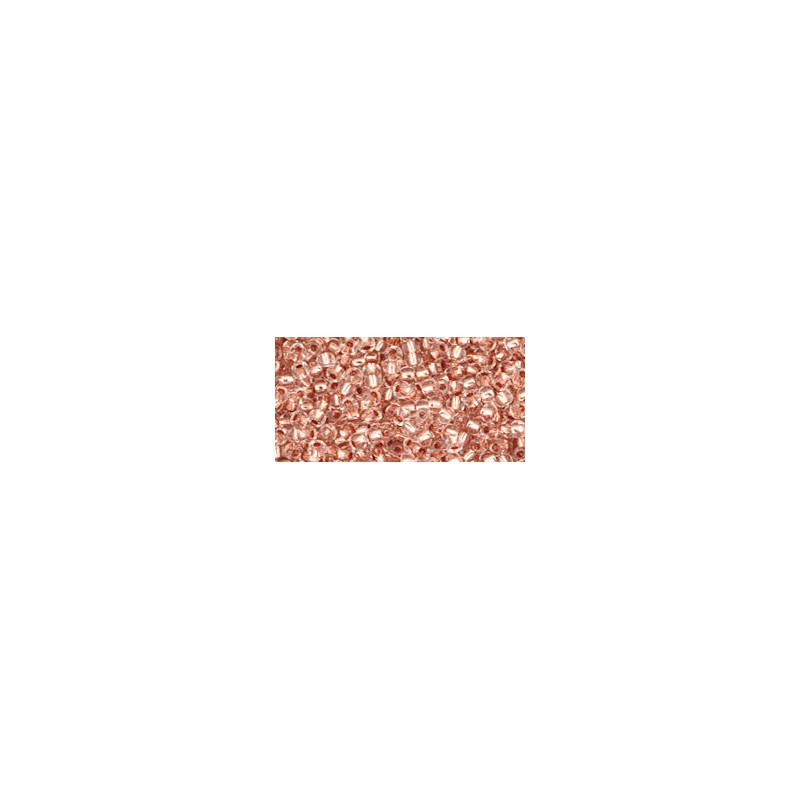TR-11-740 COPPER-LINED CRYSTAL TOHO SEED BEADS