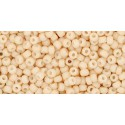 TR-11-763 OPAQUE-PASTEL-FROSTED* APRICOT TOHO SEED BEADS