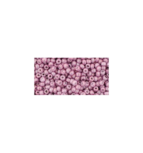 TR-11-1202 MARBLED OPAQUE PINK/PINK TOHO БИСЕР