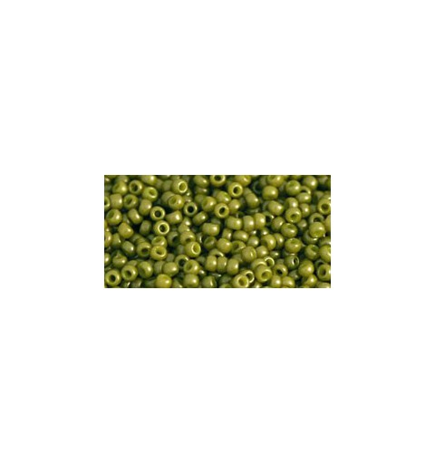 TR-11-1624F OPAQUE-FROSTED PEA GREEN SOUP TOHO SEEMNEHELMEID