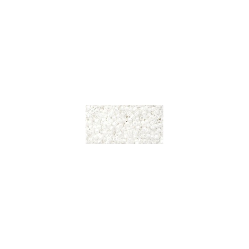 TT-11-761 MATTE-COLOR OPAQUE WHITE TOHO Treasures 12/0