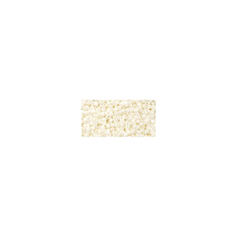 TT-11-761 MATTE-COLOR OPAQUE WHITE TOHO Treasures 12/0