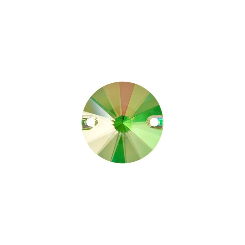 14MM Crystal Luminous Green F (001 LUMG) 3200 Rivoli SWAROVSKI ELEMENTS