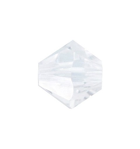 4MM CRYSTAL (001) 5328 XILION Bi-Cone Beads SWAROVSKI ELEMENTS