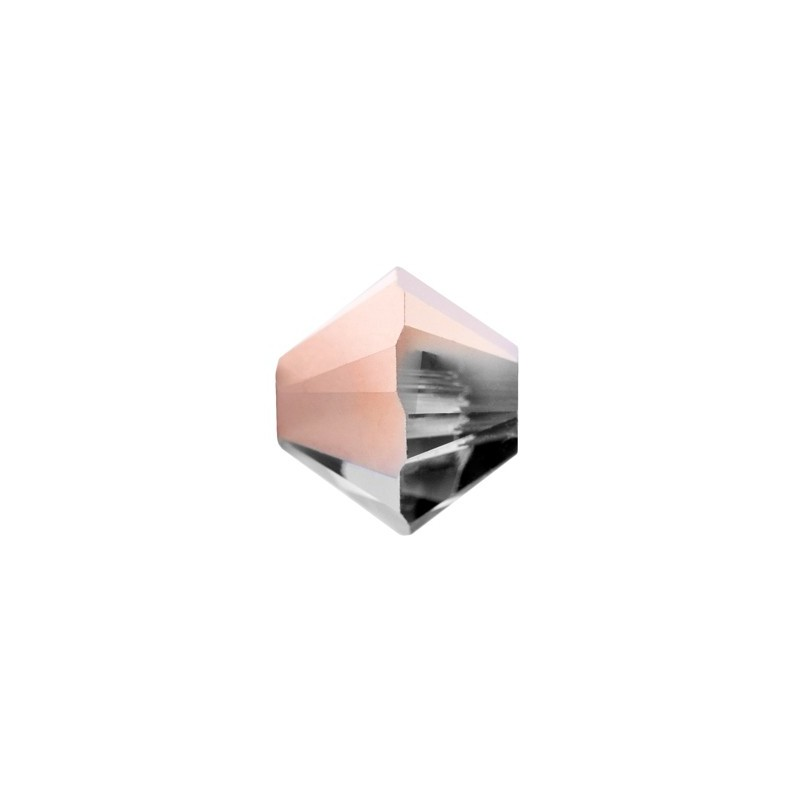 6MM Crystal Rose Gold (001 ROGL) 5328 XILION Bi-Cone Beads SWAROVSKI ELEMENTS
