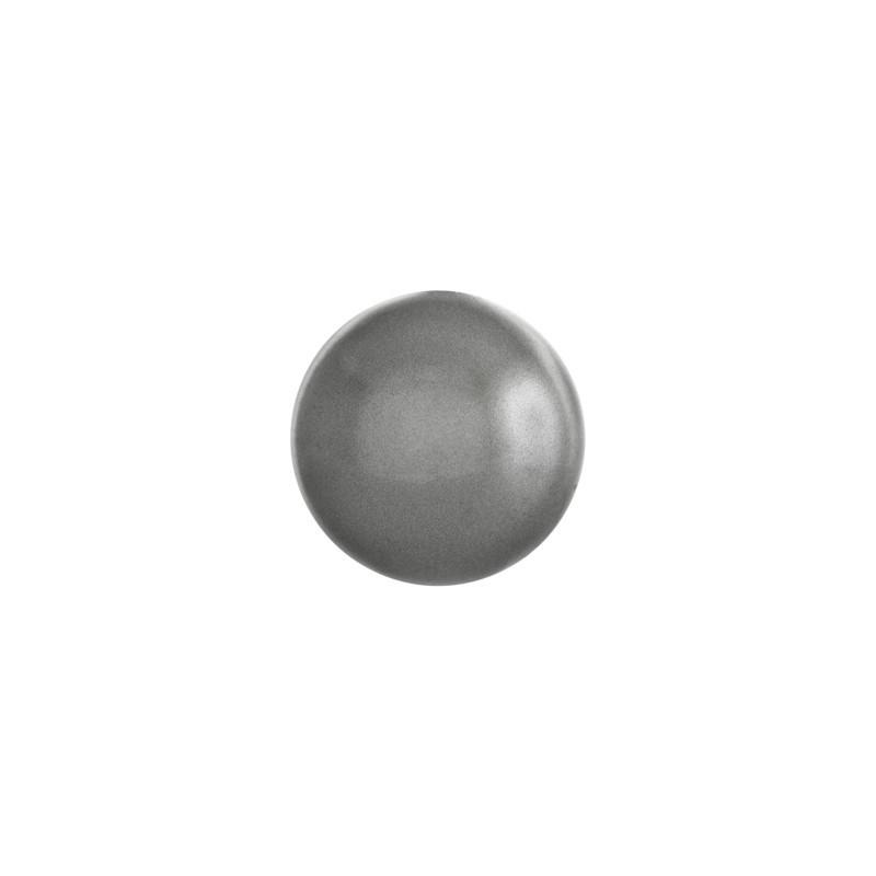 SS34 Crystal Dark Grey Pärl HF (001 617) 2080/4 Cabochon SWAROVSKI ELEMENTS