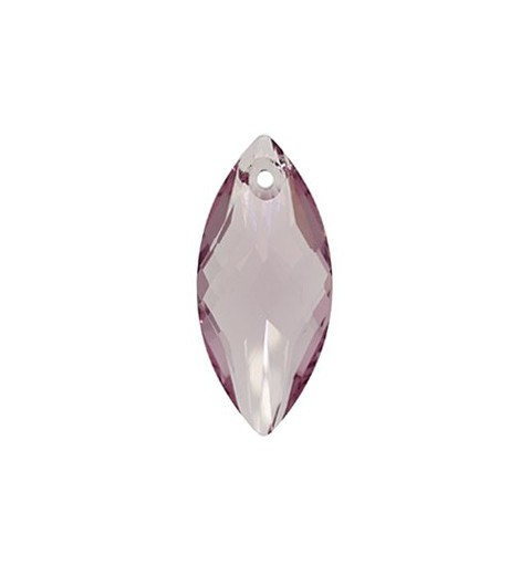 30x14MM Light Amethyst (212) Pendants 6110 Navette SWAROVSKI ELEMENTS