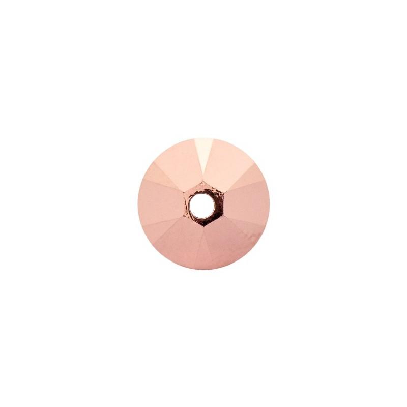 4MM Crystal Rose Gold 2x (001 ROGL2) 5328 XILION Bi-Cone Helmed SWAROVSKI ELEMENTS