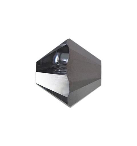 4MM Crystal Silver Night (001 SINI) 5328 XILION Bi-Cone Бусины SWAROVSKI ELEMENTS