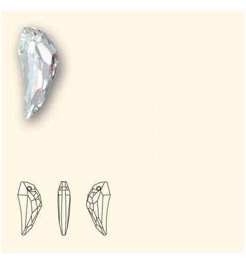 30MM Crystal Satin (001 SATIN) Pendants 6150 Pegasus SWAROVSKI ELEMENTS