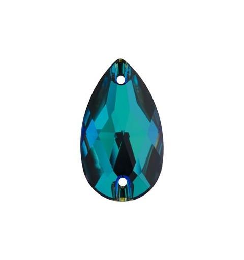 28x17MM Crystal Meridian Blue F (001 MBLUE) 3230 Drop SWAROVSKI ELEMENTS