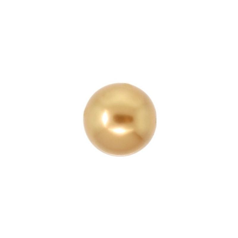 4MM Crystal Särav Kuld Ümmargune Pärl (001 306) 5810 SWAROVSKI ELEMENTS