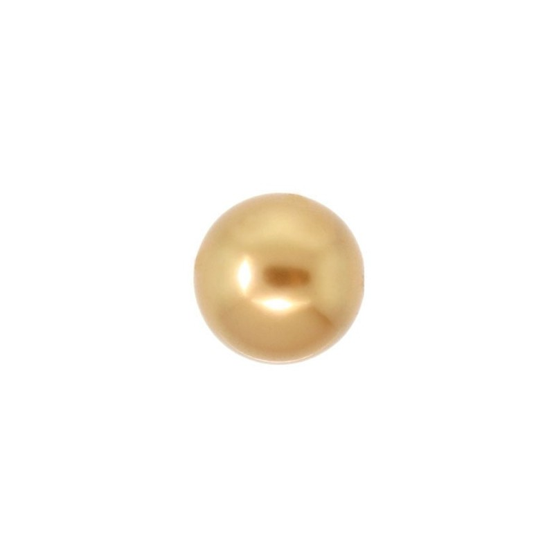 3MM Crystal Bright Gold Pearl (001 306) 5810 SWAROVSKI ELEMENTS