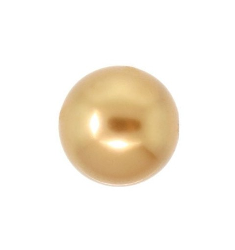 6MM Crystal Bright Gold Pearl (001 306) 5810 SWAROVSKI ELEMENTS
