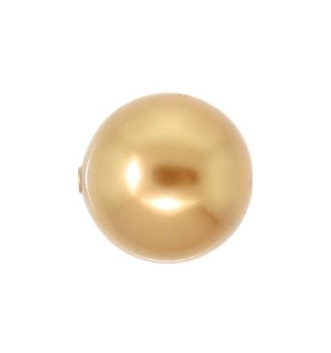 10MM Crystal Särav Kuld Ümmargune Pärl (001 306) Suure Avaga 5811 SWAROVSKI ELEMENTS