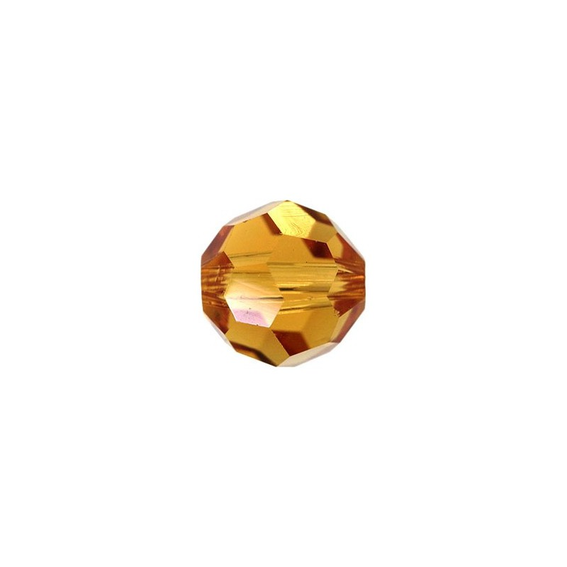 10MM Topaz (203) 5000 Round Bead SWAROVSKI ELEMENTS