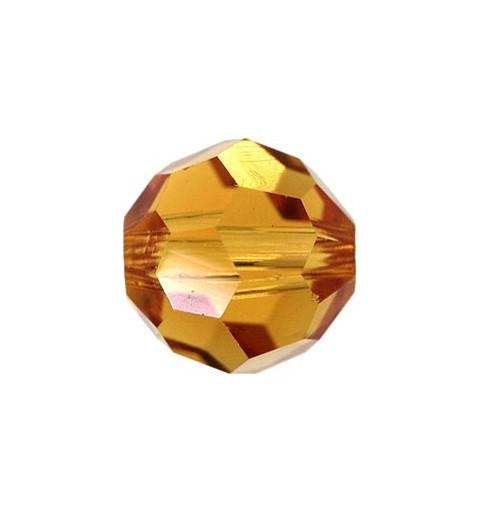 10MM Topaz (203) 5000 Round Bead SWAROVSKI ELEMENTS