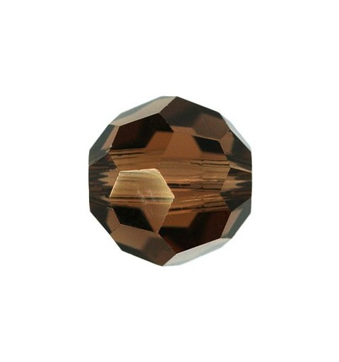 10MM Smoked Topaz (220) 5000 Round Bead SWAROVSKI ELEMENTS